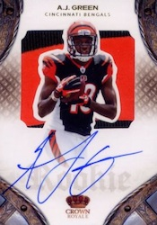 A.J. Green Cards, Rookie Cards and Memorabilia Guide 3