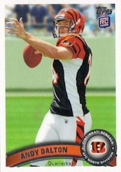 Andy Dalton Cards, Rookie Card Checklist and Autographed Memorabilia Guide 22