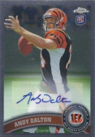 Andy Dalton Cards, Rookie Card Checklist and Autographed Memorabilia Guide