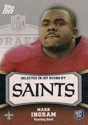 Mark Ingram Cards and Memorabilia Guide 24