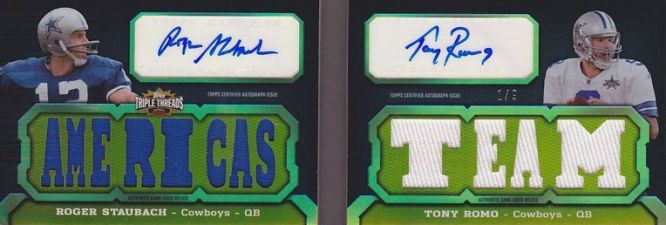 2011 Topps Triple Threads Football Book Cards and Latin Lessons 9