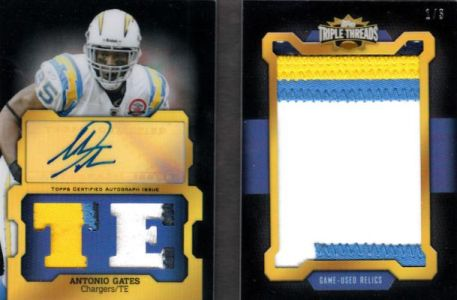 2011 Topps Triple Threads Football Book Cards and Latin Lessons 5