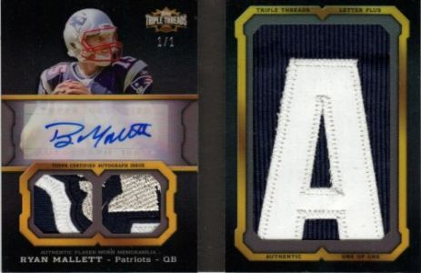 2011 Topps Triple Threads Football Book Cards and Latin Lessons 4