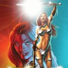 2012 Breygent Red Sonja Trading Cards