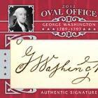 2012 Leaf Oval Office Cut Signature