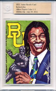 Robert Griffin III Cards Hot Following Heisman Trophy Win 2