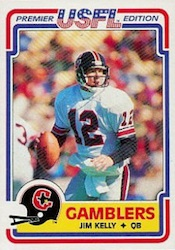 Jim Kelly Cards, Rookie Cards and Autograph Memorabila Guide 1