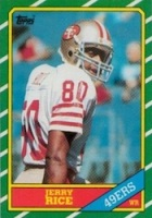 Jerry Rice Rookie Card and Autograph Memorabilia Guide