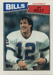 Jim Kelly Cards, Rookie Cards and Autograph Memorabila Guide 2
