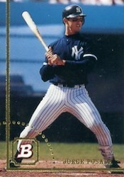 Jorge Posada Cards, Rookie Cards and Autographed Memorabilia Guide 3