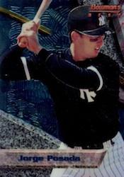 Jorge Posada Cards, Rookie Cards and Autographed Memorabilia Guide 2