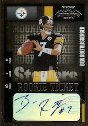 Ben Roethlisberger Card and Autograph Memorabilia Guide 4