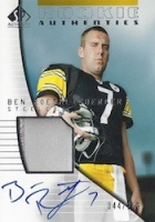 Ben Roethlisberger Card and Autograph Memorabilia Guide