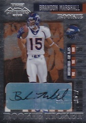 Brandon Marshall Cards and Memorabilia Guide 24
