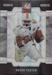 Arian Foster Cards and Autograph Memorabilia Guide 13