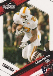 Arian Foster Cards and Autograph Memorabilia Guide 23