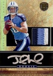 Jake Locker Cards and Memorabilia Guide 4