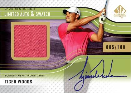 2012 SP Authentic Golf Cards 3