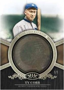 2012 Topps Tier One Full of Knobs - Bat Knobs, That Is 1