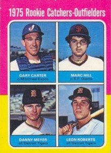 Gary Carters Cards - 1975 O-Pee-Chee Baseball Gary Carter RC