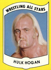 Hulk Hogan Cards - 1982 Wrestling All Stars Series A Hulk Hogan