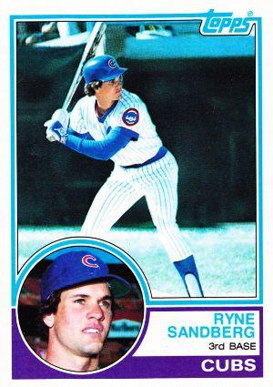 1983 Topps Baseball Set Info Key Rookie Cards Singles