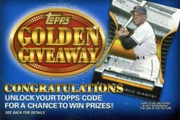 Topps Golden Giveaway Website Goes Live 1