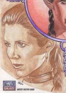 Top 10 2012 Topps Star Wars Galaxy 7 Sketch Card Sales 2