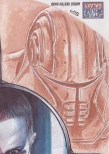 Top 10 2012 Topps Star Wars Galaxy 7 Sketch Card Sales 3