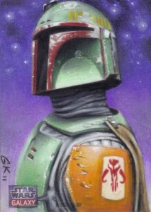 Top 10 2012 Topps Star Wars Galaxy 7 Sketch Card Sales 5