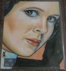 Top 10 2012 Topps Star Wars Galaxy 7 Sketch Card Sales 7