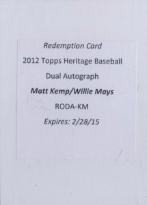 10 Top-Selling 2012 Topps Heritage Baseball Cards 5