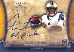 10 Most Valuable 2011 Topps Five Star Football Cards 7