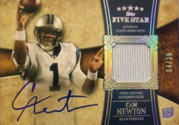 10 Most Valuable 2011 Topps Five Star Football Cards 9