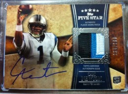10 Most Valuable 2011 Topps Five Star Football Cards 10