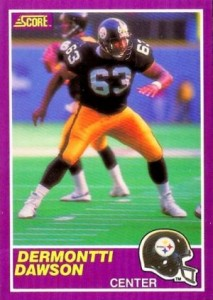 1989 Score Supplemental Dermontti Dawson