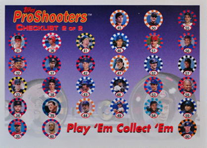 1997 Topps ProShooters Marbles 5