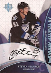 Steven Stamkos Rookie Cards and Autograph Memorabilia Guide 2