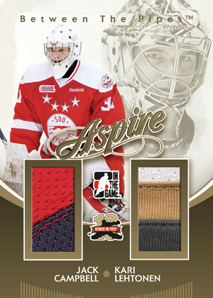 2011-12 In the Game Between the Pipes Hockey Cards 9