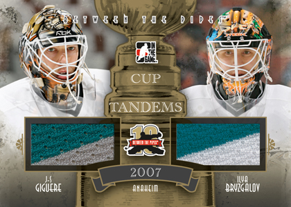 2011-12 In the Game Between the Pipes Hockey Cards 13