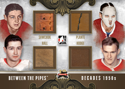 2011-12 In the Game Between the Pipes Hockey Cards 14