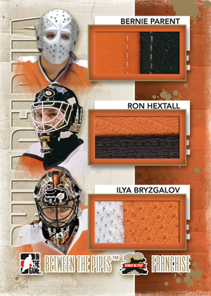 2011-12 In the Game Between the Pipes Hockey Cards 16
