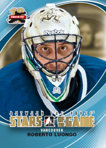 2011-12 In the Game Between the Pipes Hockey Cards 1