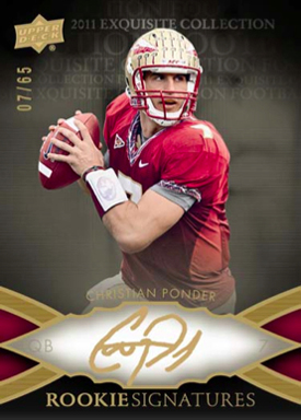 2011 Upper Deck Exquisite Football Cards 3