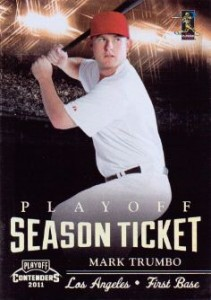 2011 Playoff Contenders Baseball Cards 4