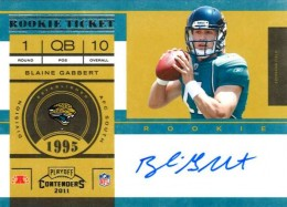 2011 Playoff Contenders Football Rookie Ticket Variation Guide 23