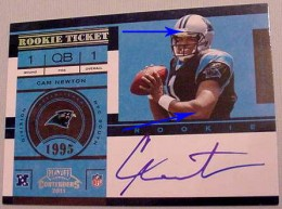 2011 Playoff Contenders Football Rookie Ticket Variation Guide 56