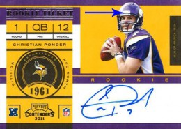 2011 Playoff Contenders Football Rookie Ticket Variation Guide 10