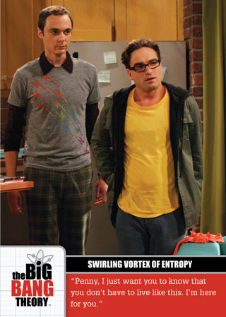 2012 Cryptozoic The Big Bang Theory Trading Cards 1