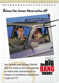 2012 Cryptozoic The Big Bang Theory Behind the Scenes 9 Image